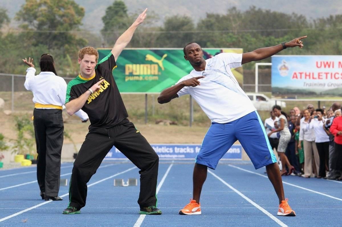 principe Harry Usain Bolt
