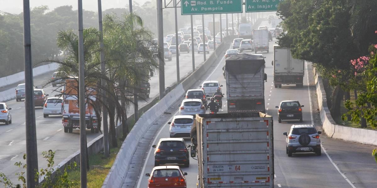 CET interdita marginal Tietê nesta segunda-feira para manutenção