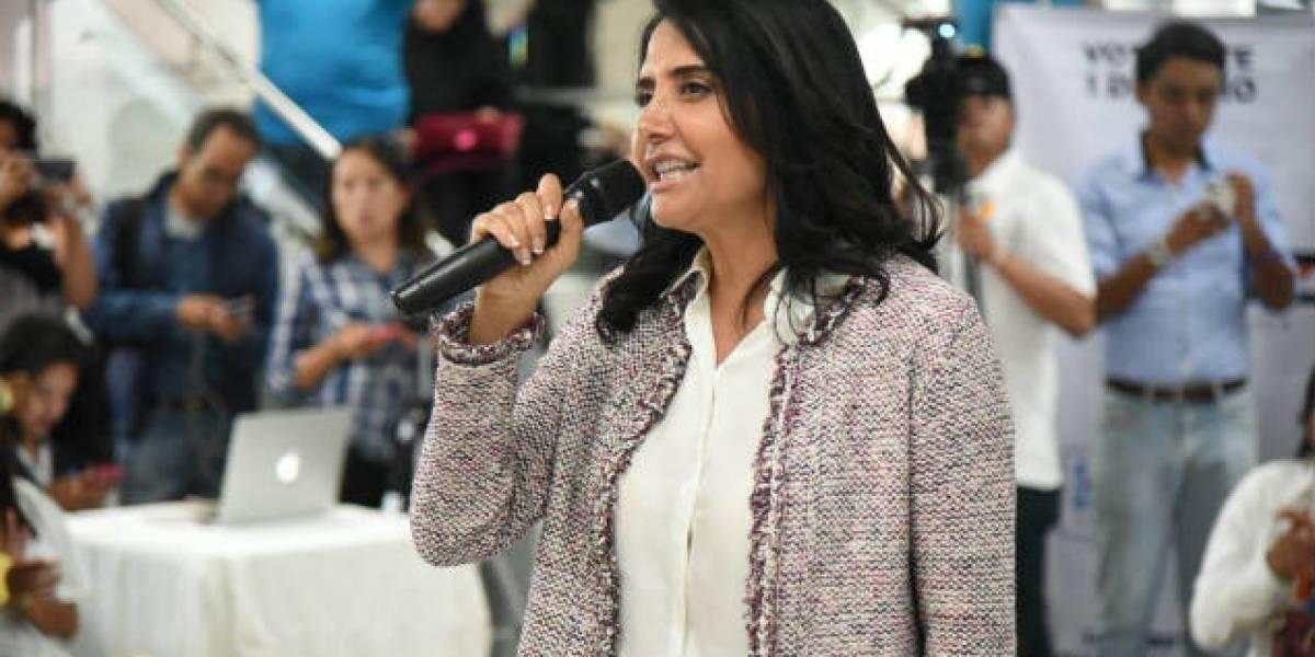 Alejandra Barrales rechaza declinar a favor de Mikel Arriola