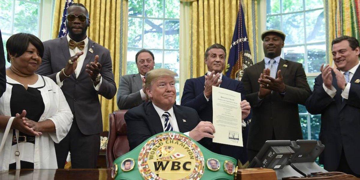 Trump indulta póstumanente al primer campeón peso pesado de raza negra