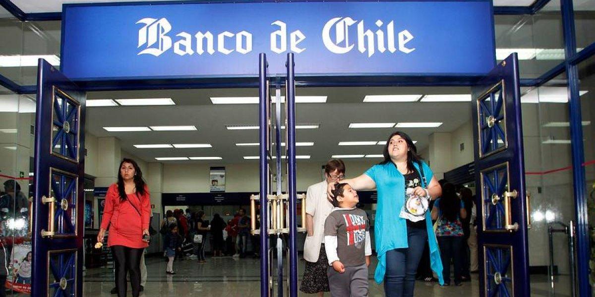 Usuarios reportan diversos problemas en plataformas del Banco de Chile