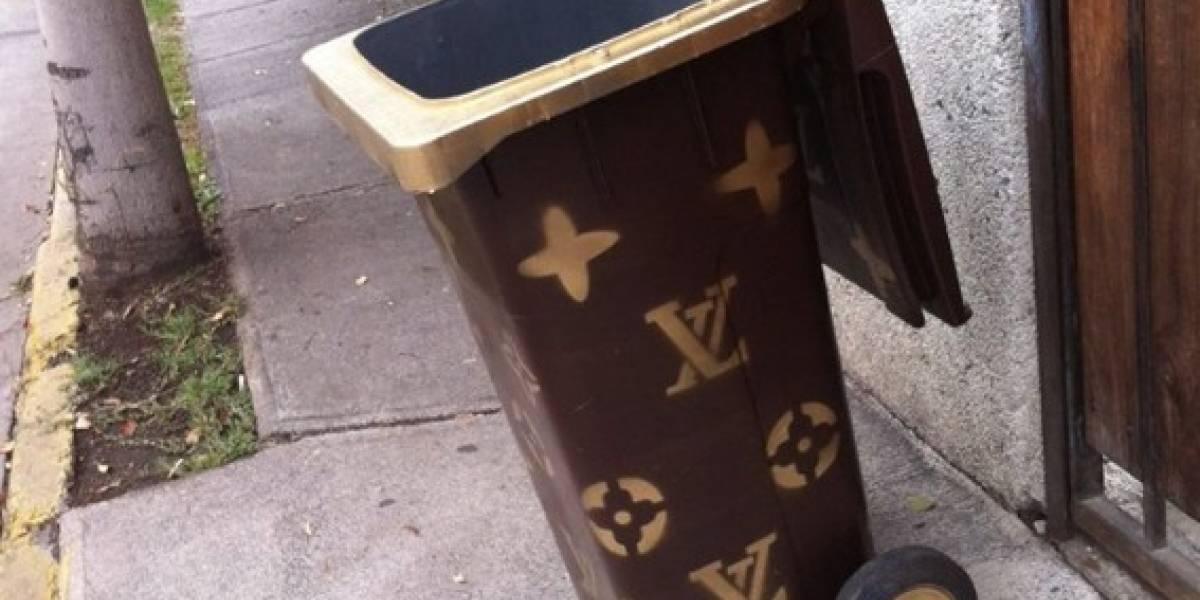 Criatividade: Cesto de lixo da ´Louis Vuitton` faz sucesso na internet