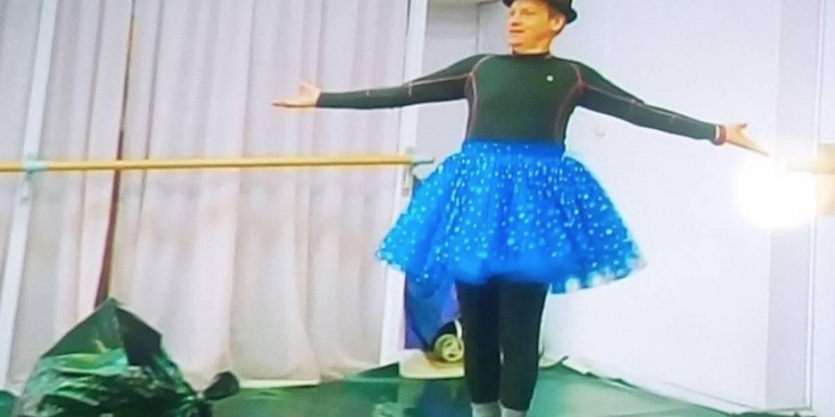 Don Jediondo bailó ballet en La vuelta a Rusia en 80 risas y así le fue