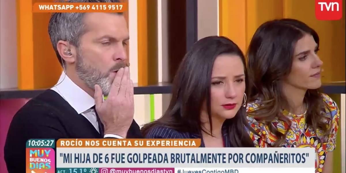 """Los dramáticos casos de bullying que hicieron llorar al panel del """"Muy Buenos Días"""" de TVN"""