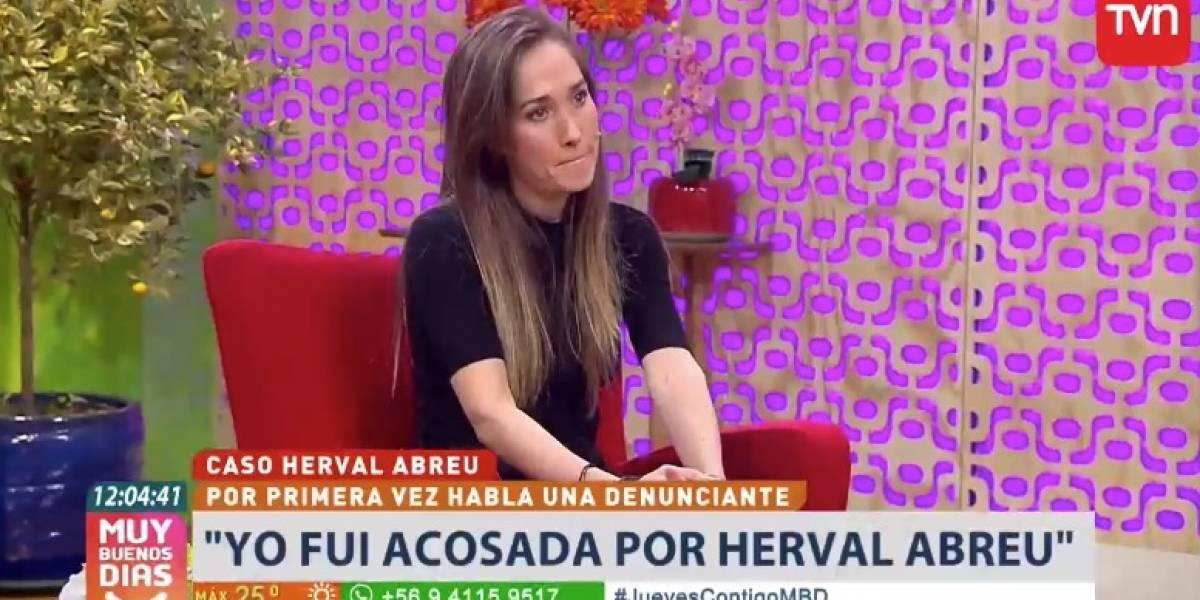 """Fedra Vergara, una de las denunciantes de Herval Abreu: """"Contaba los días para para que se acabara la teleserie y poder irme"""""""