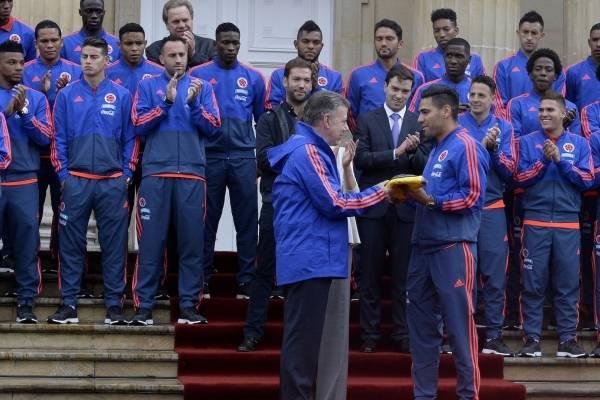 Juan Manuel Santos habló sobre la Selección Colombia