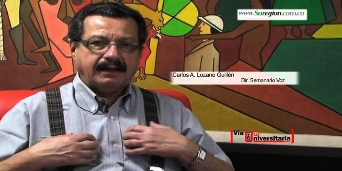 Muere en Bogotá Carlos Lozano Guillén, director del Semanario Voz