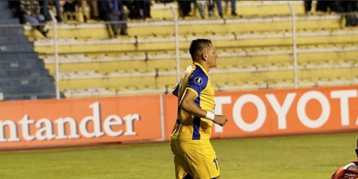 Delfín cayó 2-1 ante Bolívar en la Copa Libertadores
