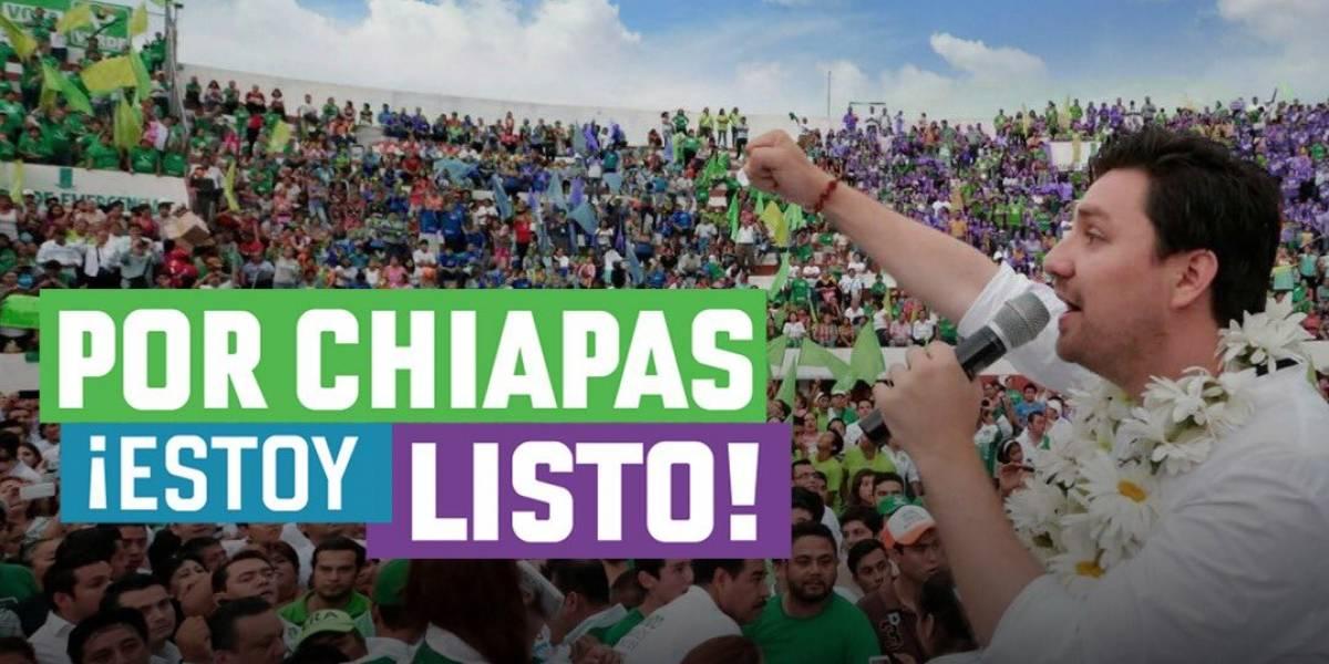 A un mes de la elección, PRI y PVEM 'rompen' en Chiapas