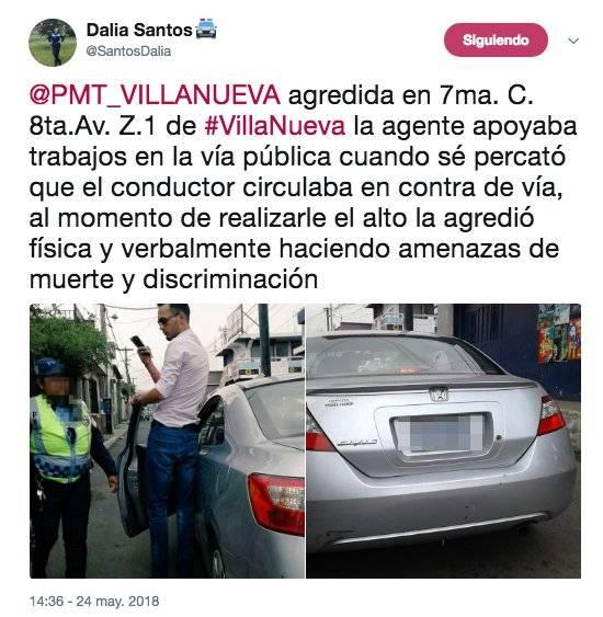 Denuncia de Dalia Santos