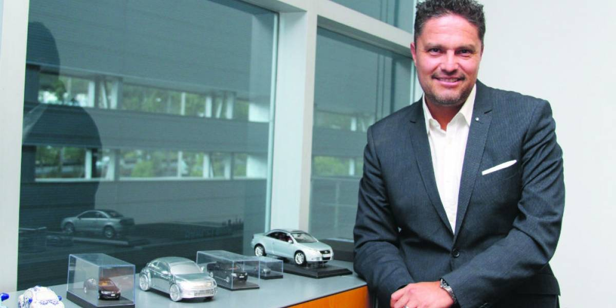 El nuevo rostro de Volkswagen en México: Édgar Estrada