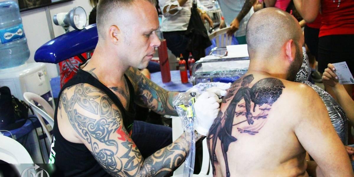 Llega la novena convención internacional de tatuadores a Medellín