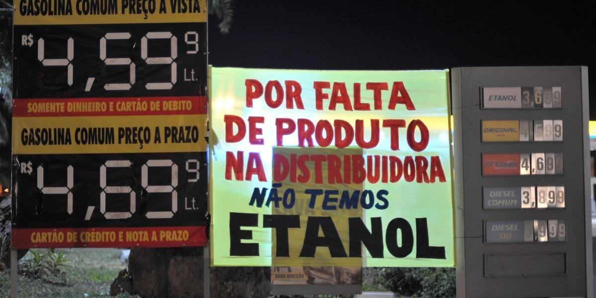 Quarto dia de greve agrava falta de combustível em postos de todo o País
