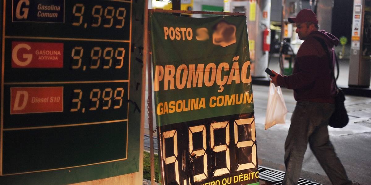 Greve dos caminhoneiros: gasolina chega a R$ 9,99 em posto do DF