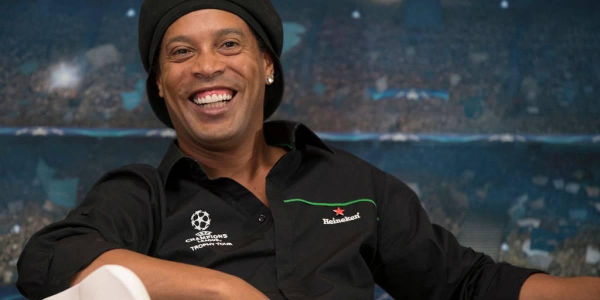 Ronaldinho Gaúcho diz que Messi é o 'melhor da história'