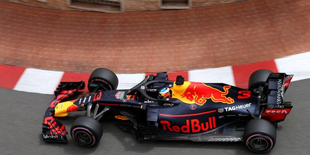 Red Bull, los líderes imbatibles en la práctica del Gran Premio de Mónaco