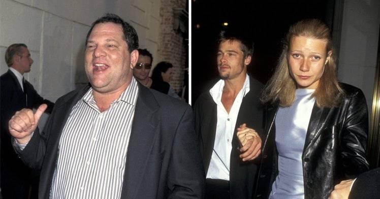 Brad Pitt y Harvey Weinstein