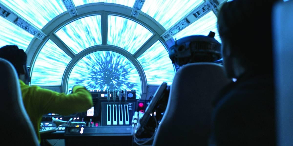 Gosta da Millennium Falcon? Dá uma olhada nos detalhes da nave do Han Solo