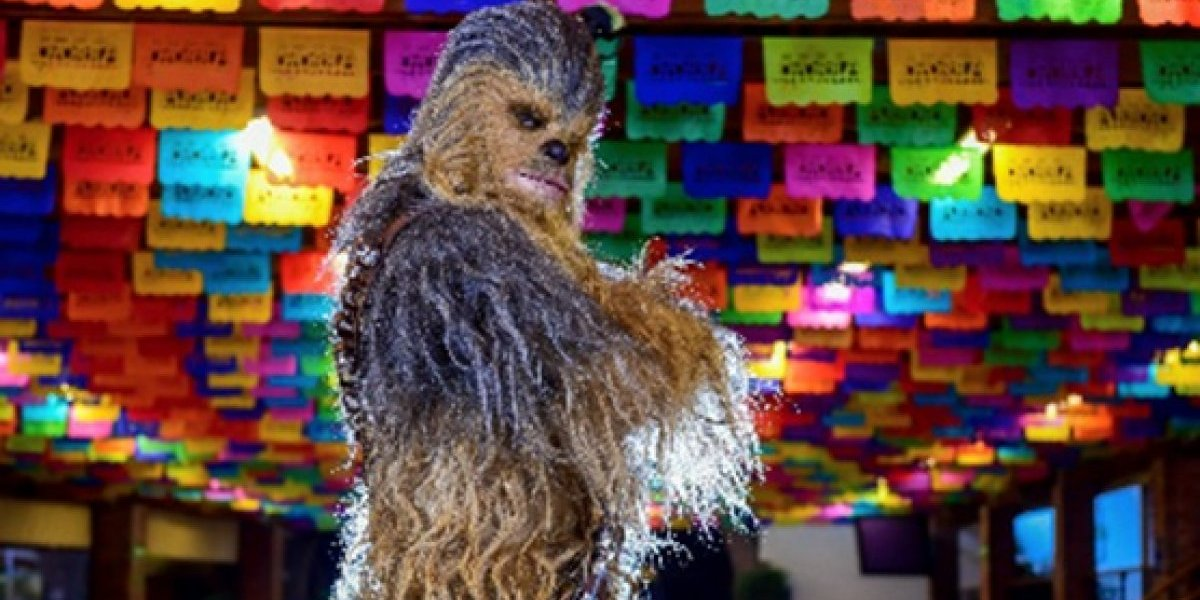GALERÍA: Chewbacca, de una galaxia lejana a México
