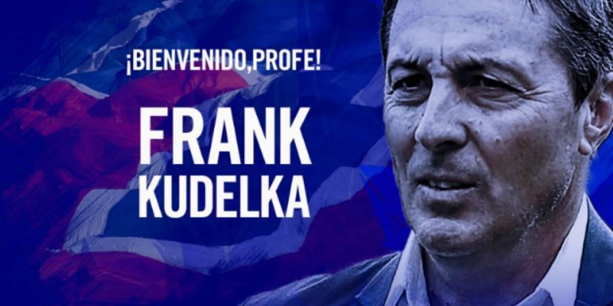 La U oficializa a Frank Darío Kudelka como el reemplazante de Hoyos