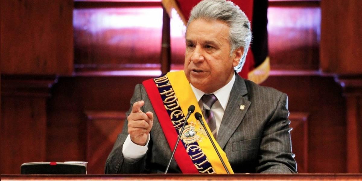 Lenín Moreno formaliza proyecto para fomento de productividad, inversiones y empleo