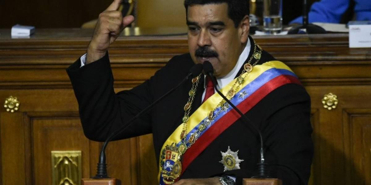 Maduro promete derrotar sanciones de Trump al jurar como presidente reelecto