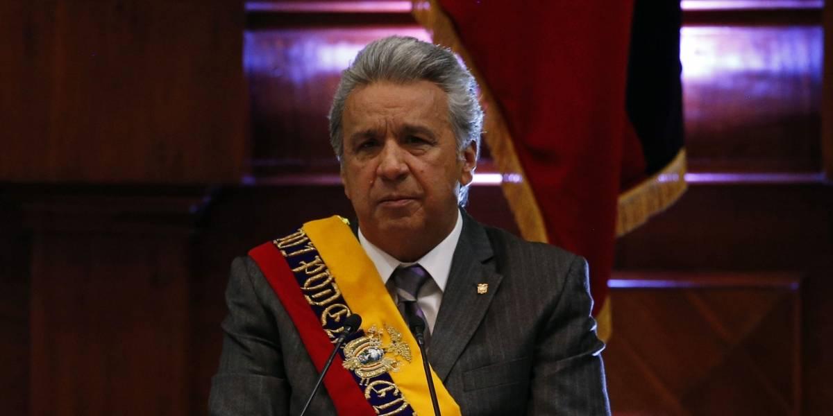 El presidente Lenín Moreno presenta su Informe a la Nación