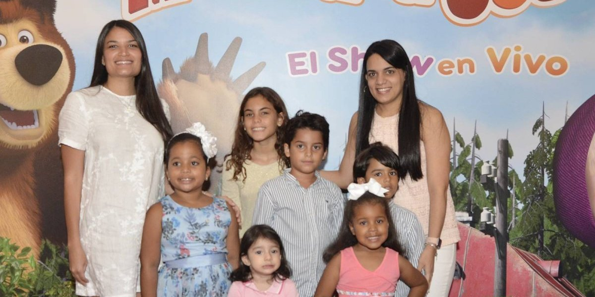 #TeVimosEn: Milex Kinder Gold auspicia gala premier show Masha y el Oso