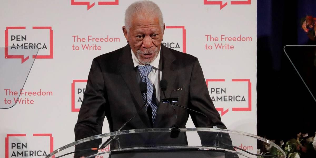 Morgan Freeman pede desculpas após ser acusado de assédio sexual