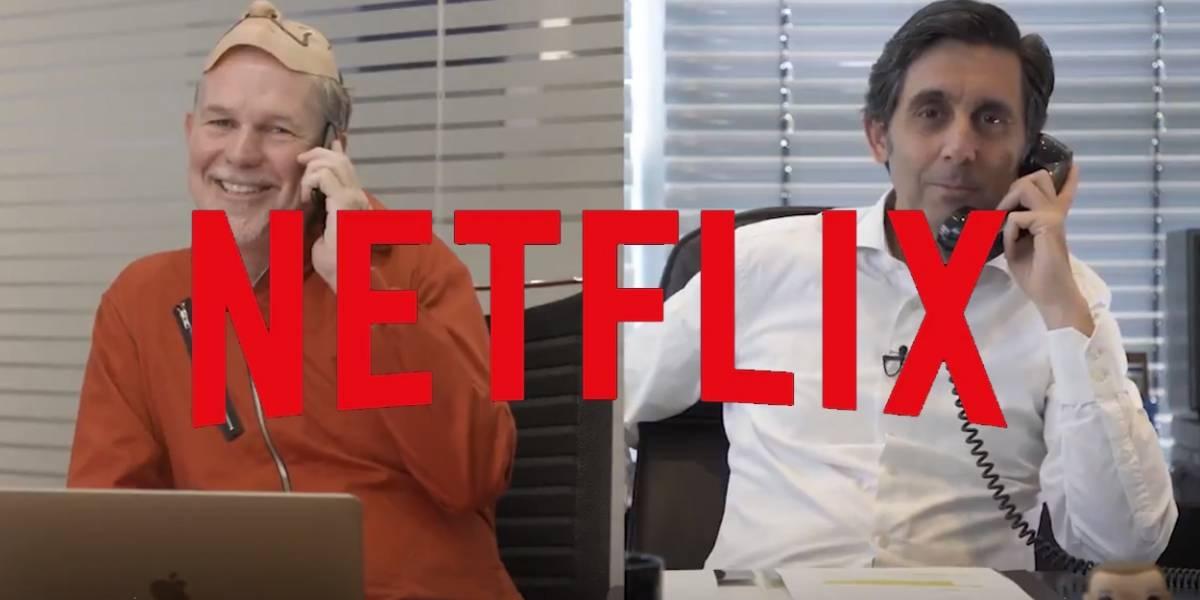 Acuerdo histórico: El catálogo de Netflix se integra en Movistar+