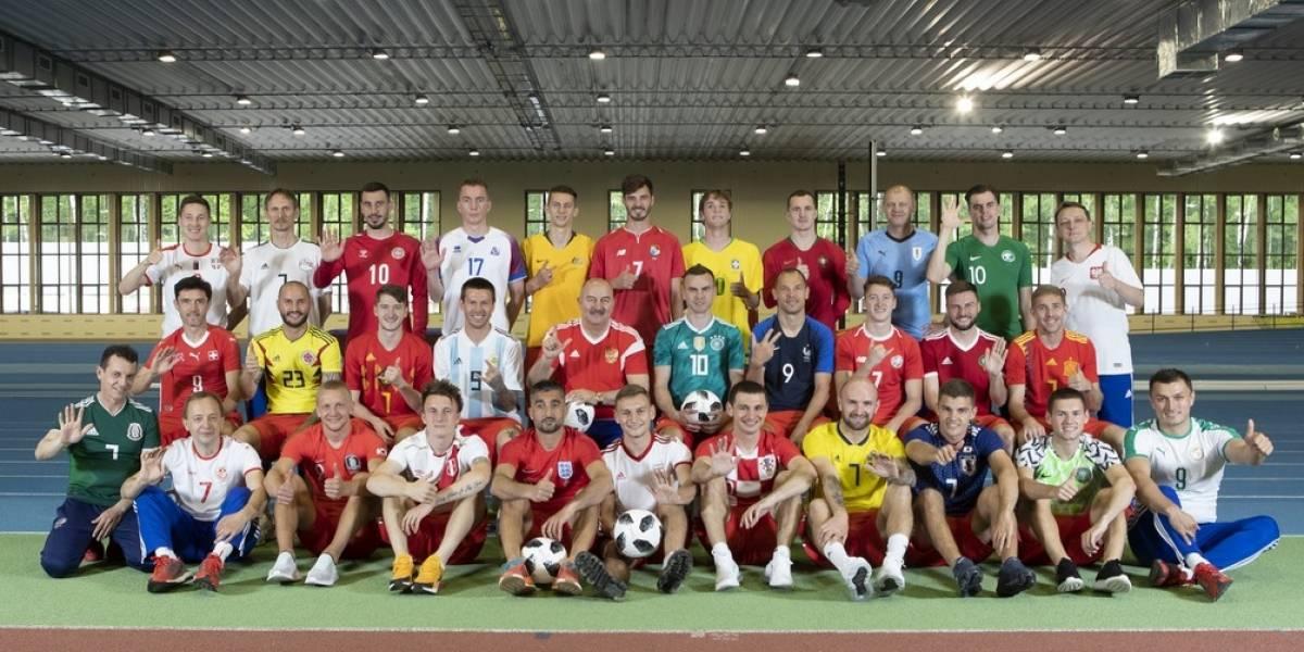 Selección rusa da bienvenida a países que jugarán el Mundial