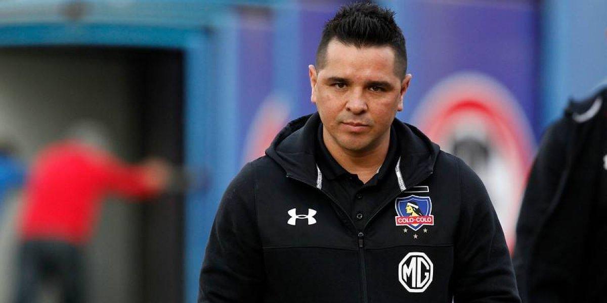 """Tapia tras clasificar en la Libertadores: """"No es la forma en qué juega Colo Colo, pero esto no es siempre atacar"""""""