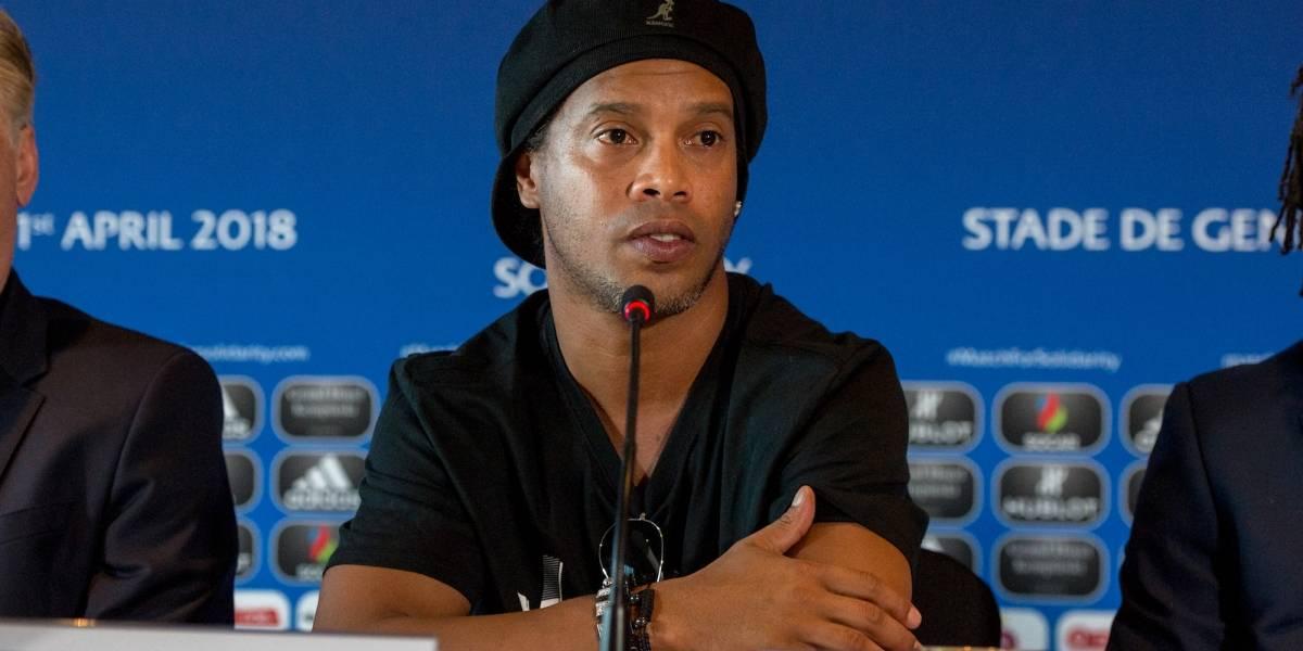 FOTOS: Ellas son las dos mujeres con las que se casará Ronaldinho