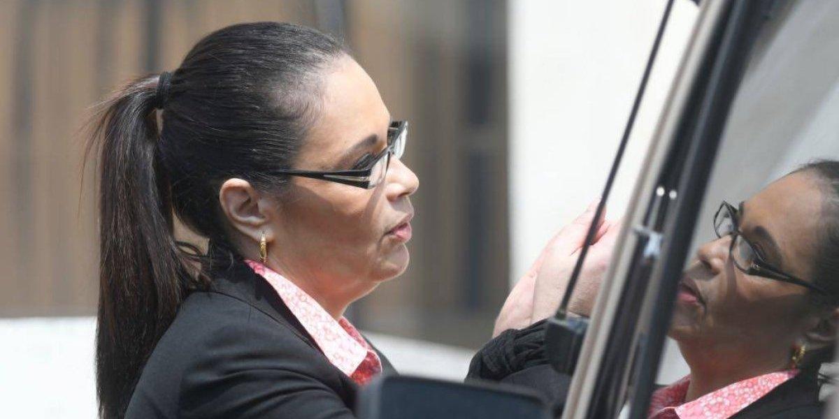 Impugnan extinción de dominio de inmueble de Roxana Baldetti que se ubica Honduras