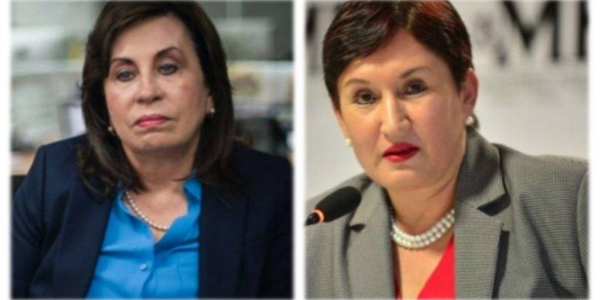 Analizan la eventual participación de Thelma Aldana en política y el mensaje de Sandra Torres