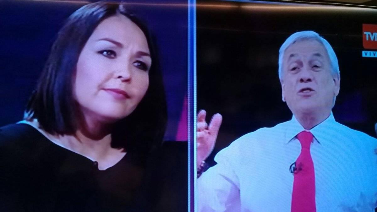 Piñera en TVN