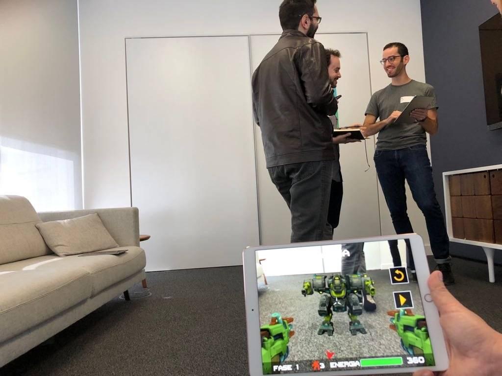 aplicativo realidade aumentada