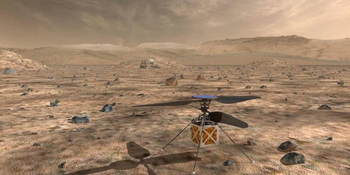 NASA enviará un dron a Marte