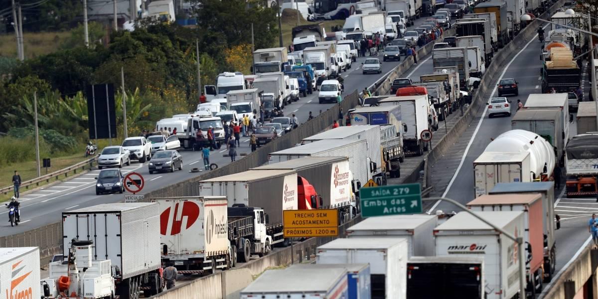 'A gente já tem o que queria', diz líder dos caminhoneiros no Rio