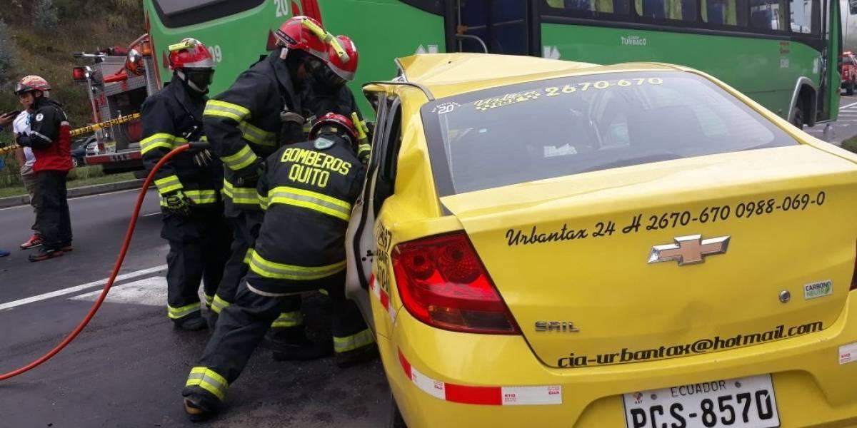 Un fallecido tras accidente en la avenida Simón Bolívar y Granados