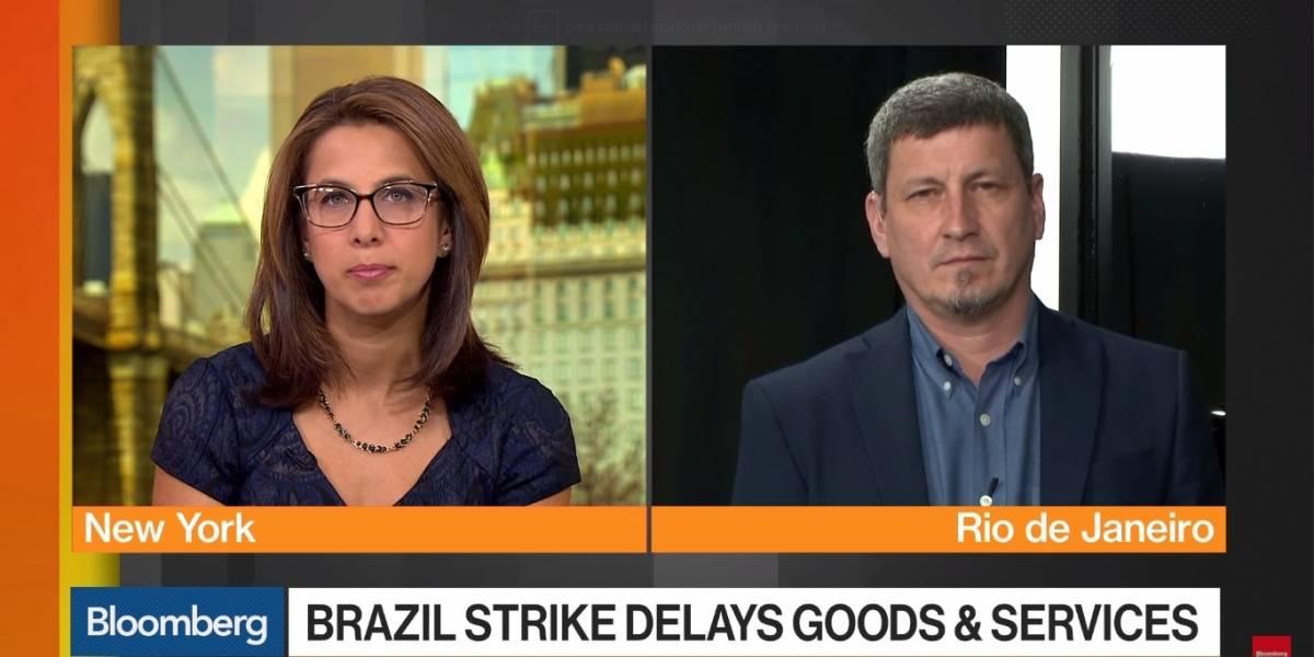 Greve dos caminhoneiros: Emissoras estrangeiras destacam paralizações