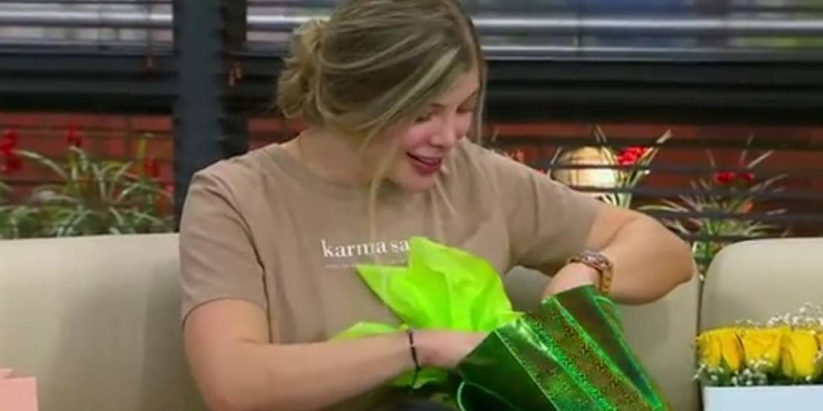 El regalo que Jota Mario le dio al bebé de Sofía Jaramillo