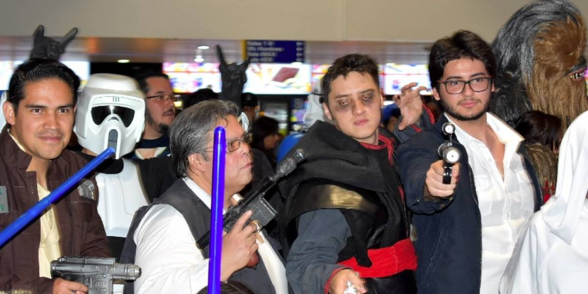 "Así vivió México el estreno de ""Solo: A Star Wars Story"""