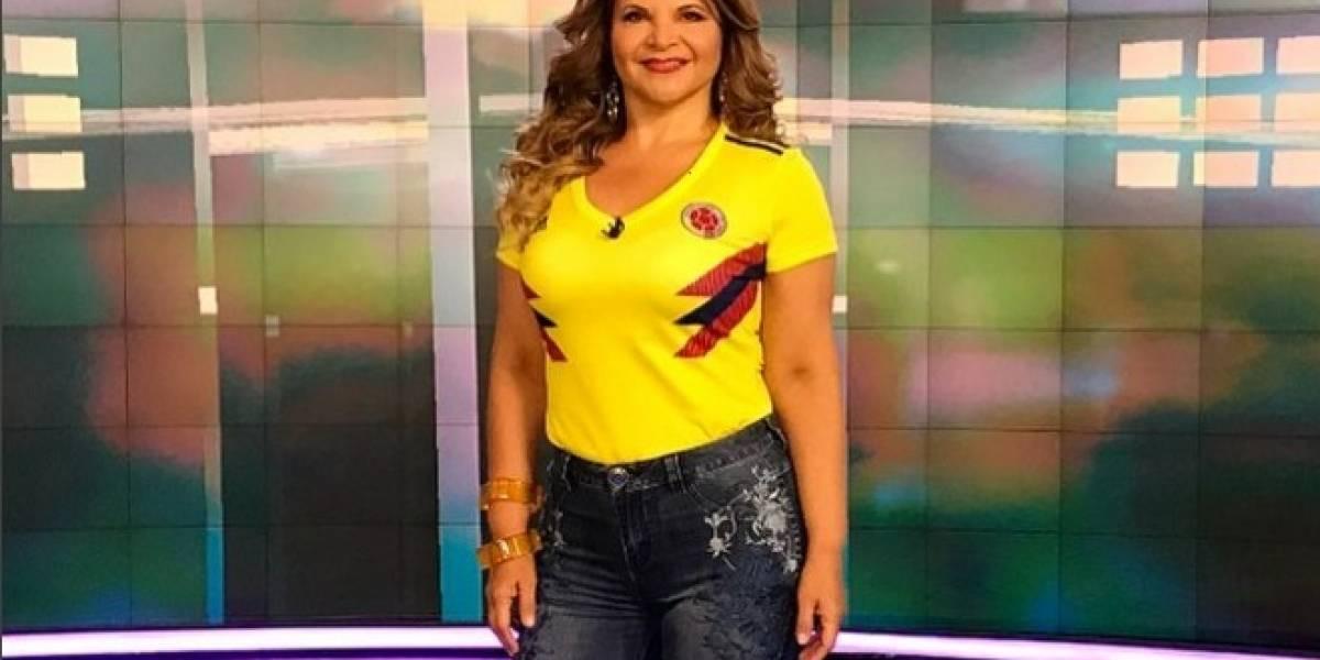 Diva Jessurum es criticada por hablar de camiseta de la selección Colombia
