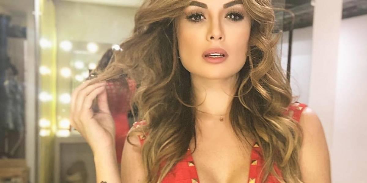El error de photoshop de Sara Uribe en publicación de Instagram