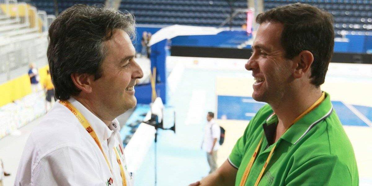 Sergio Valdeolmillos deja de ser el entrenador de la selección de básquetbol