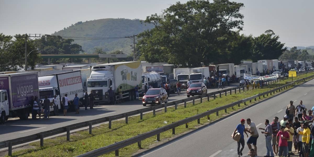 Greve dos caminhoneiros: Veja a situação das estradas neste momento