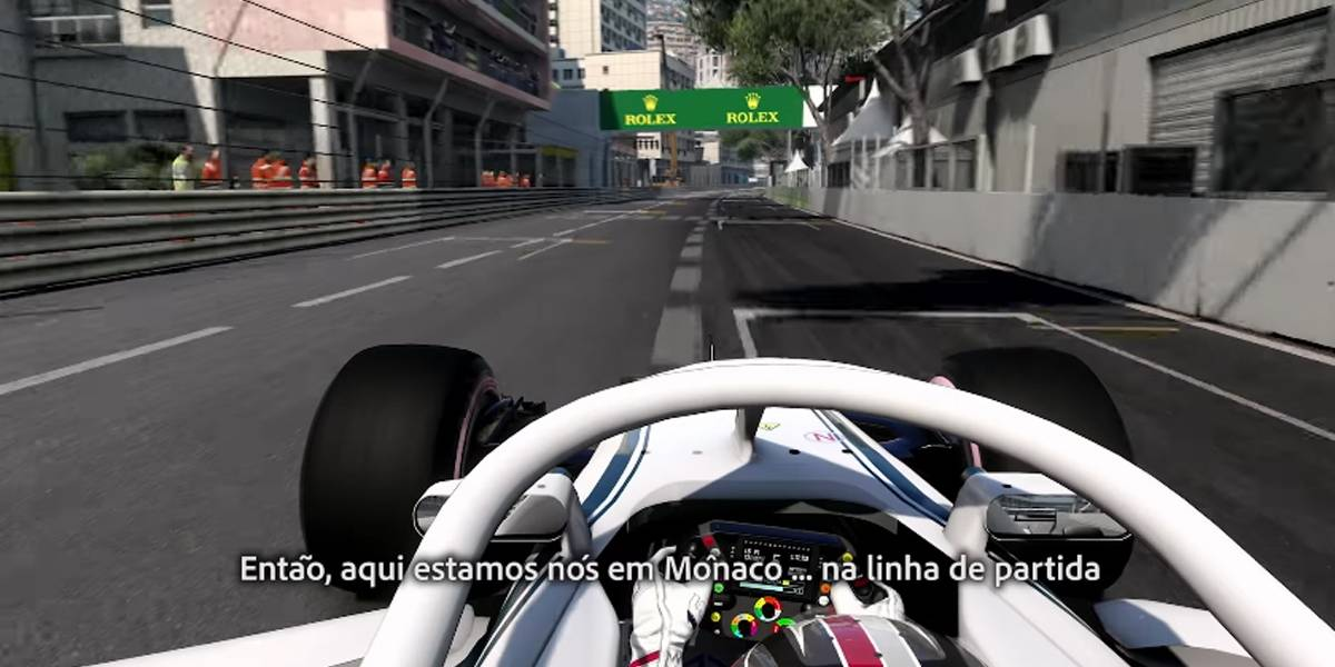 'F1 2018' ganha seu primeiro gameplay