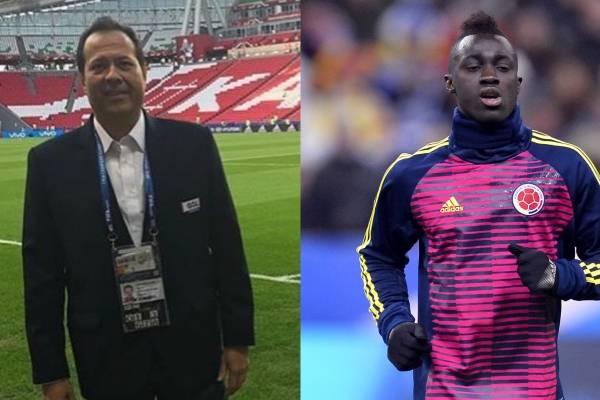 Error del cantante del gol con Dávinson Sánchez