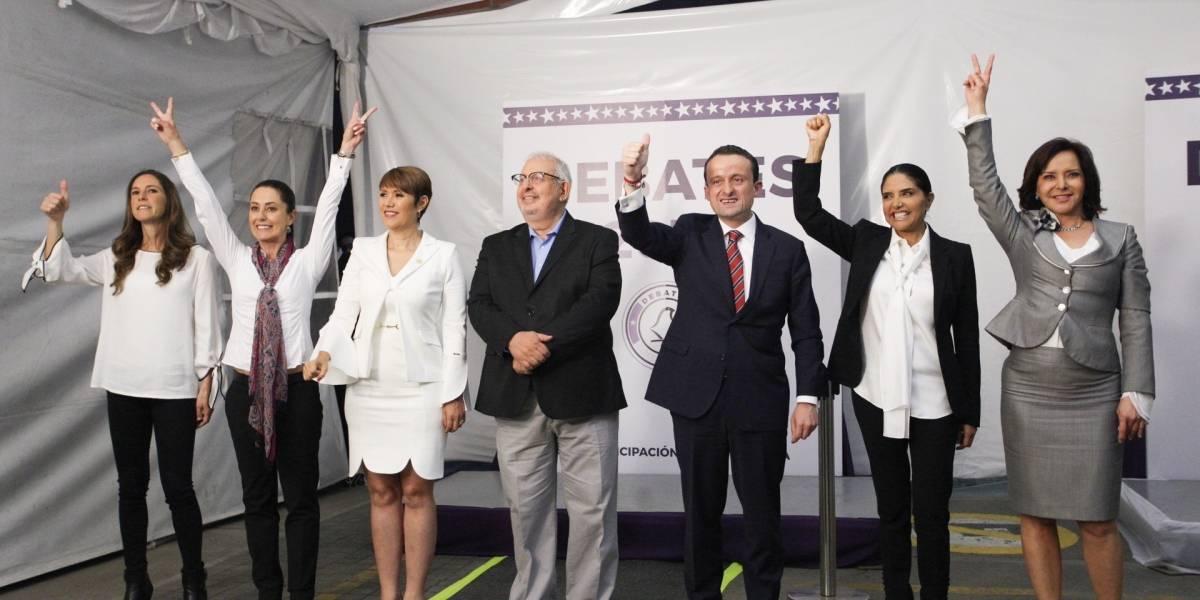 """6 de 7 candidatos a jefes de Gobierno compartirán la """"Comida por la Ciudad"""""""